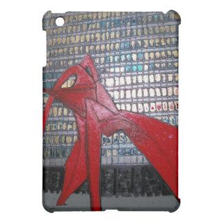Chicago Flamingo Sculpture iPad Mini Case
