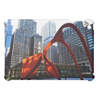 Chicago Flamingo Sculpture Cover For The iPad Mini