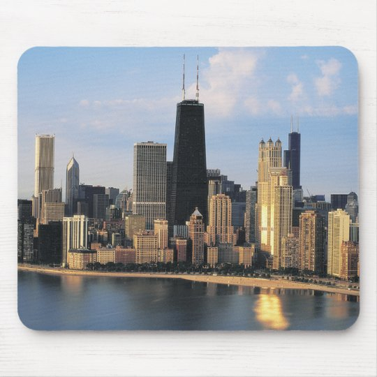 Chicago From Lake Shore Drive Mouse Pad