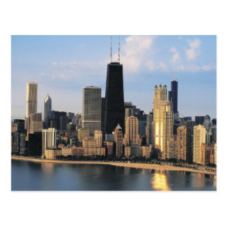 Chicago from Lake Shore Drive Postcard