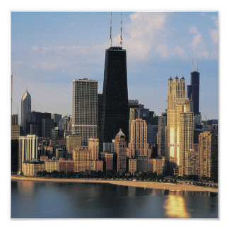 Chicago from Lake Shore Drive Poster