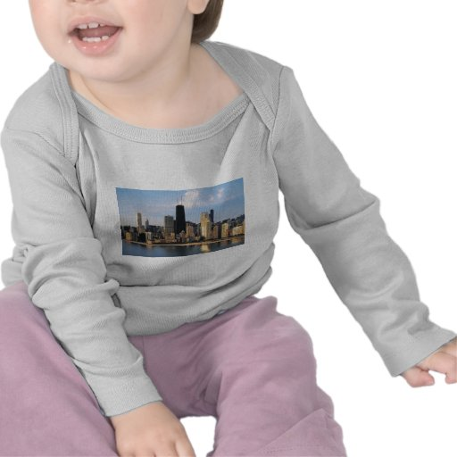 Chicago from Lake Shore Drive Tees