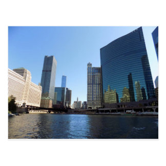 Chicago from the River Postcard