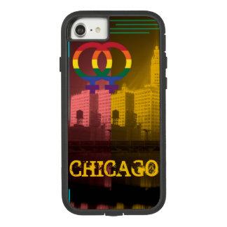 Chicago Gay Lesbian Interest Rainbow Wrigley Bldg Case-Mate Tough Extreme iPhone 8/7 Case