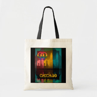 Chicago Gay Lesbian Interest Wrigley Building Tote Bag