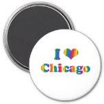 CHICAGO GAY PRIDE FRIDGE MAGNET