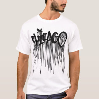 Chicago Graffiti T-Shirt with Drips