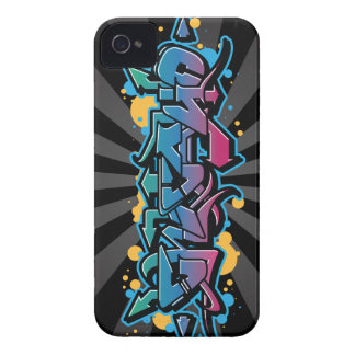 Chicago Graffiti Wildstyle Case-Mate iPhone 4 Cases