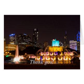 Chicago Grant Park Card