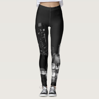 Chicago Grant Park Grayscale Leggings