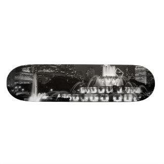 Chicago Grant Park Grayscale Skateboard Deck