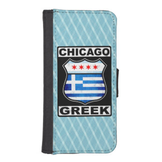 Chicago Greek American iPhone SE/5/5s Wallet
