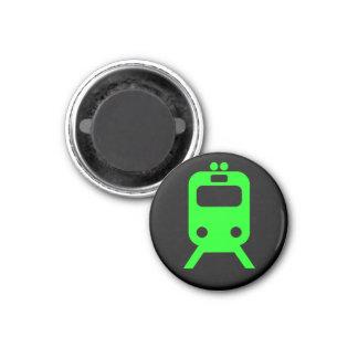 Chicago - Green Line 1 Inch Round Magnet