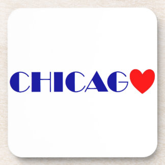 Chicago gusto posavasos de bebidas