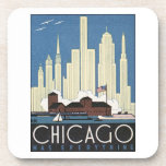 Chicago Has Everything Beverage Coasters