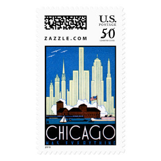 Chicago Has Everything Postage