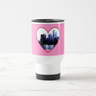Chicago Heart Travel Mug