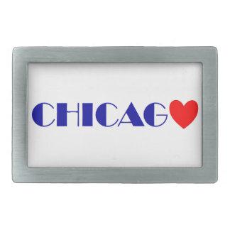 Chicago I like Rectangular Belt Buckle
