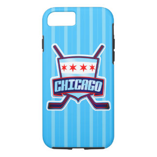 Chicago Ice Hockey Flag Case