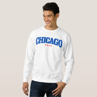Chicago, Iconic Chicago Red Star, The Windy City Sweatshirt