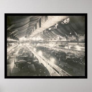 Chicago, IL Auto Show Photo 1907 Poster
