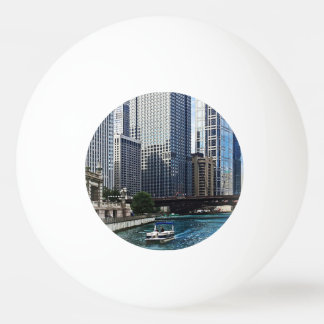 Chicago IL - Chicago River Near Wabash Ave. Bridge Ping-Pong Ball