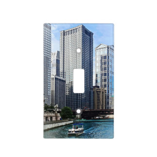 Chicago IL - Chicago River Near Wabash Ave. Bridge Switch Plate Covers