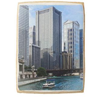Chicago IL - Chicago River Near Wabash Ave. Bridge Jumbo Cookie