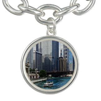 Chicago IL - Chicago River Near Wabash Ave. Bridge Bracelets