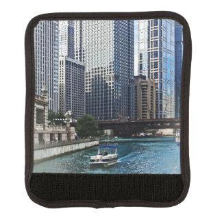 Chicago IL - Chicago River Near Wabash Ave. Bridge Handle Wrap