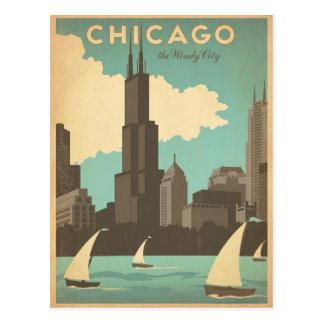 Chicago, IL - ciudad ventosa Postales