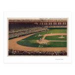 Chicago, IL - Comiskey Park, Home Plate, Basebal Postcard