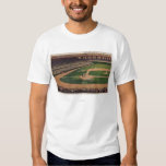 Chicago, IL - Comiskey Park, Home Plate, Basebal T-Shirt