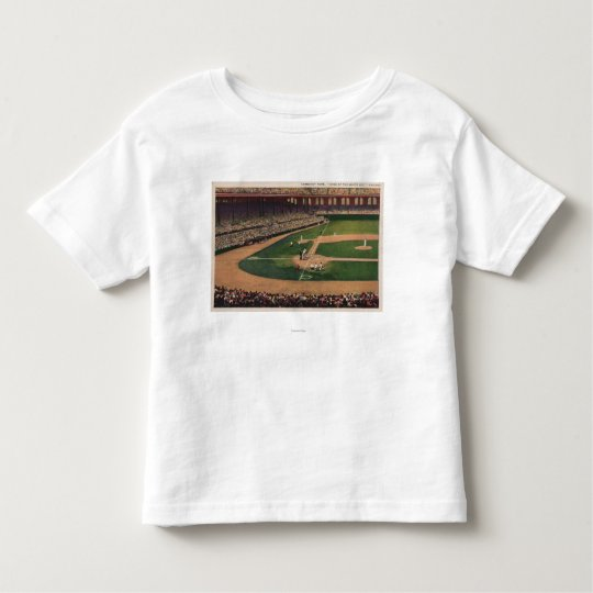 Chicago, IL - Comiskey Park, Home Plate, Basebal Toddler T-shirt
