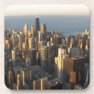 Chicago, Il Beverage Coaster