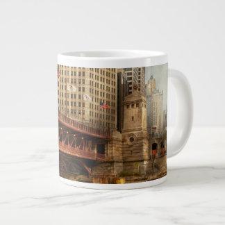 Chicago, IL - DuSable Bridge built in 1920 Giant Coffee Mug