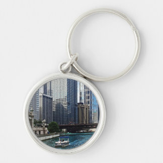 Chicago IL - El río Chicago cerca de la avenida de Llaveros Personalizados
