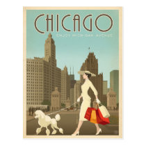 Chicago, IL - Enjoy Michigan Avenue Postcard