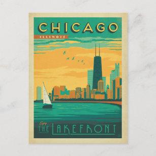 Chicago, IL - Enjoy the Lakefront Postcard