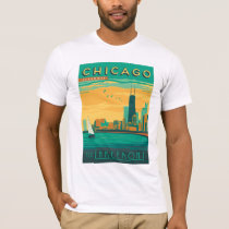 Chicago, IL - Enjoy the Lakefront T-Shirt