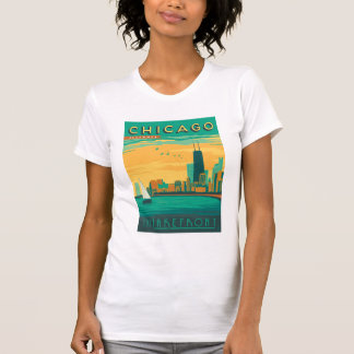 Chicago, IL - Enjoy the Lakefront Tee Shirt