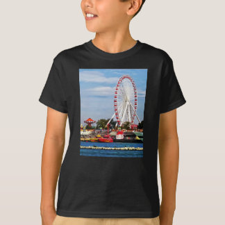 Chicago IL - Ferris Wheel at Navy Pier T-Shirt