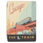 Chicago, IL - 'L' Train iPad Air Cover