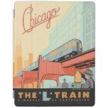 Chicago, IL - 'L' Train iPad Cover
