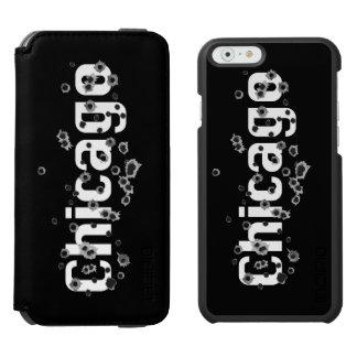 Chicago, IL  Mafia History Boss Gunshots Holes iPhone 6/6s Wallet Case