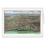 Chicago, IL Panoramic Map - 1916 Card