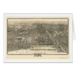 Chicago, IL Panoramic Map - 1916 Cards
