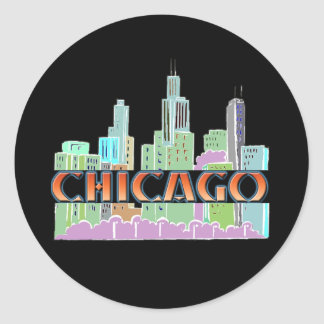 Chicago IL Etiqueta