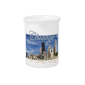 CHICAGO IL BEVERAGE PITCHERS
