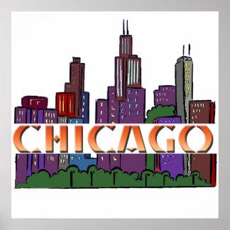 Chicago  IL Poster